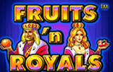 Играть в демо онлайн Fruits and Royals